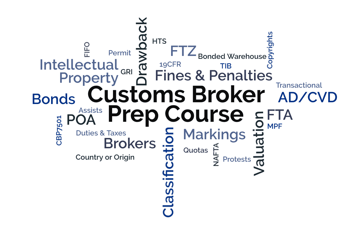 US Customs Broker Exam Prep Course - Imports Academy